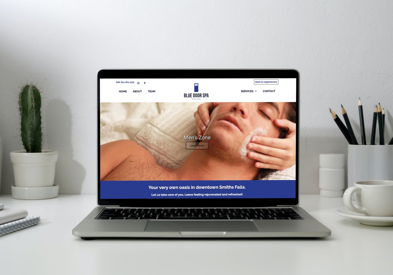 Blue Door Spa Website