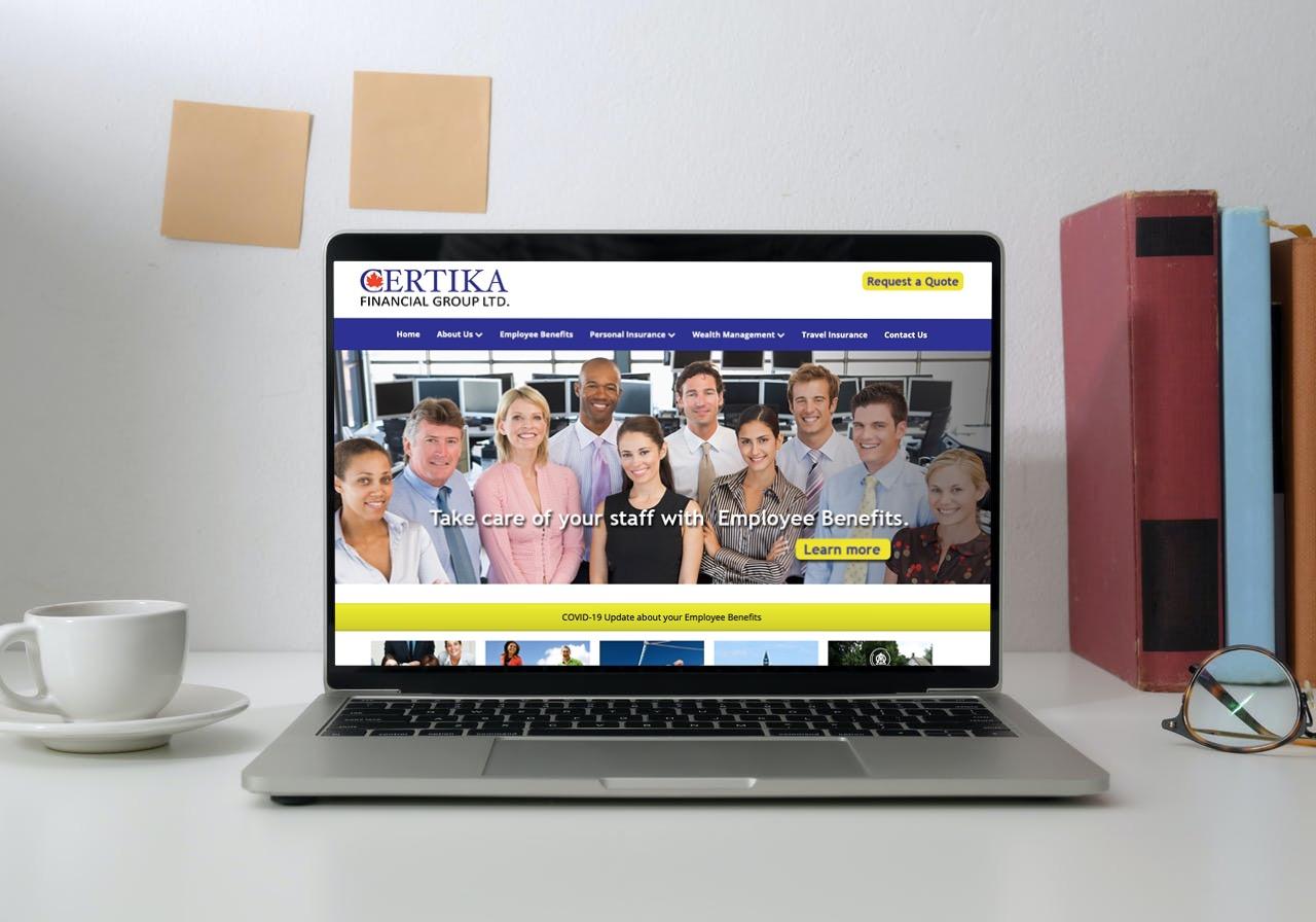 Certika Website