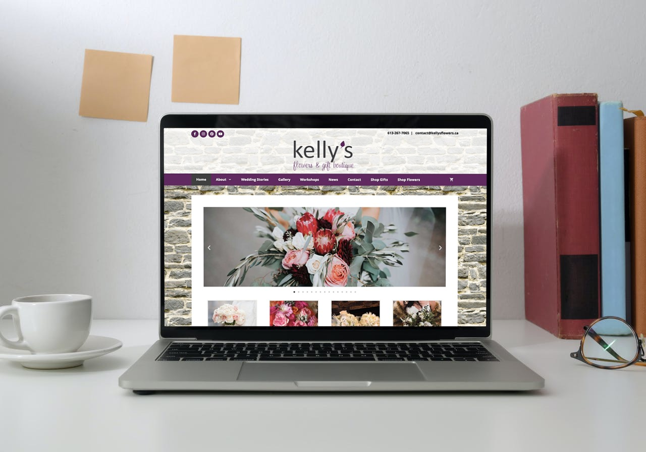 Kellys Flowers Website
