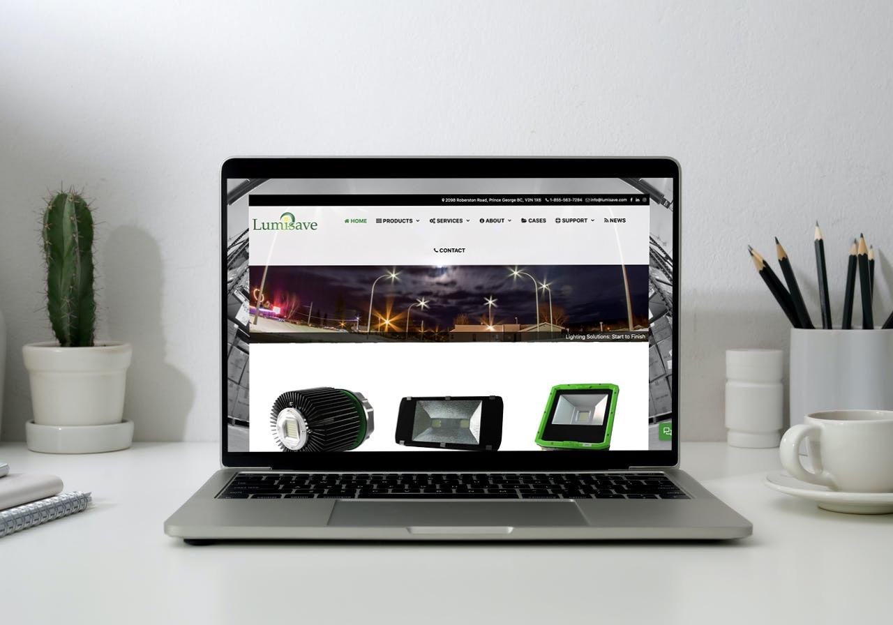 Lumnisave Website