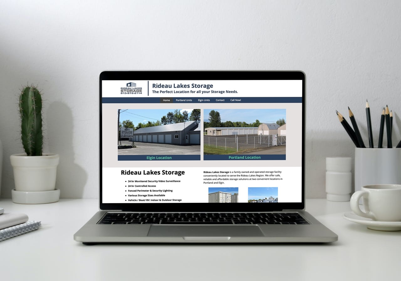 Rideau Lakes Storage Website